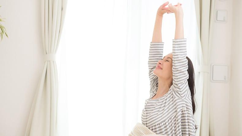 寝る姿勢と腰痛対策1