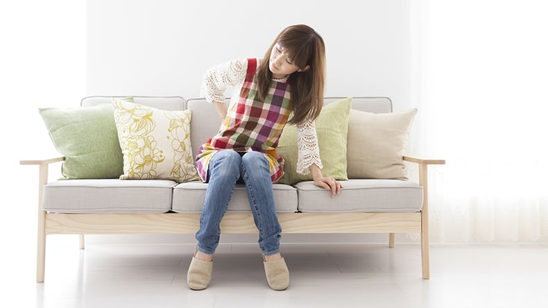 正しい座り方で腰痛対策3