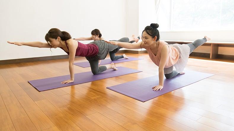 腰痛改善5つのトレーニング1