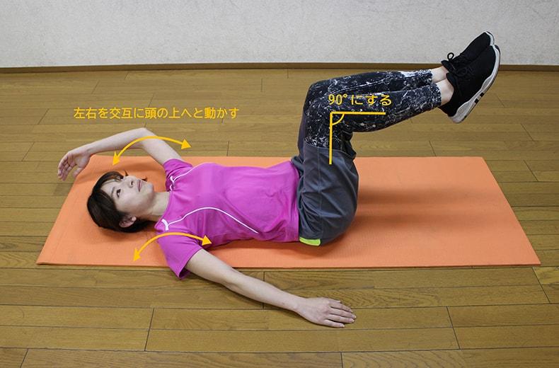 腰痛改善5つのトレーニング3