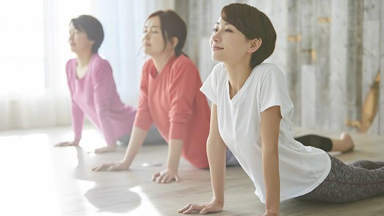 腰痛を軽くする5つの体操1