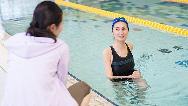 腰痛には水泳と水中ウォーキング2