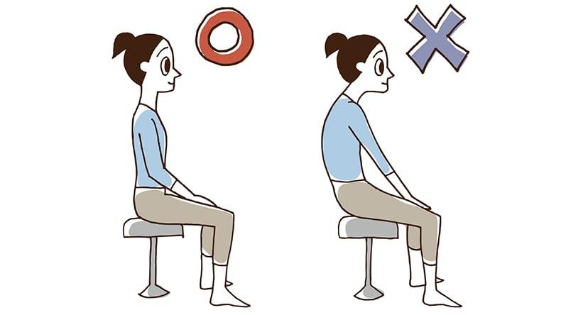 猫背の腰痛対策2