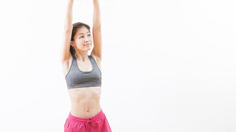 腰痛には簡単にできるストレッチ3