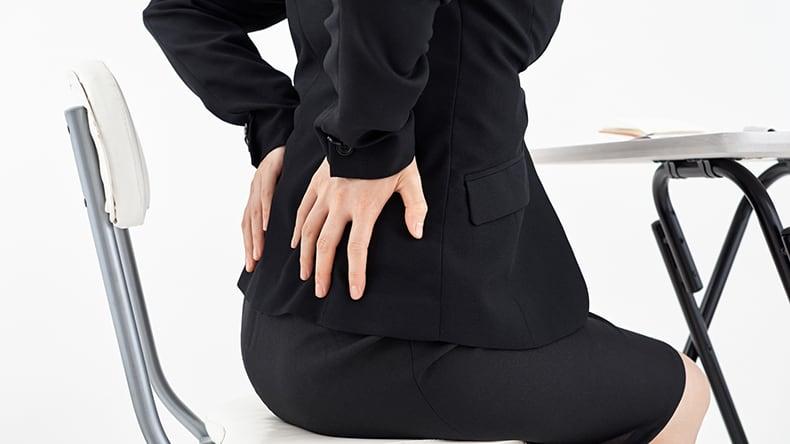 デスクワークの人のための腰痛対策TOP