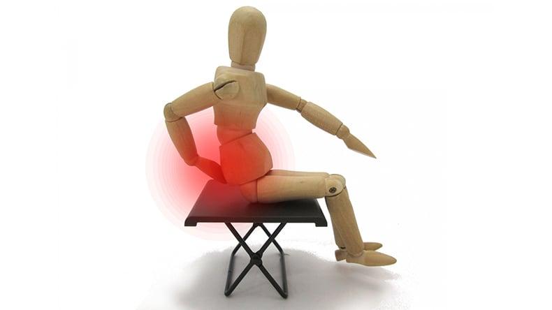 デスクワークの人のための腰痛対策2