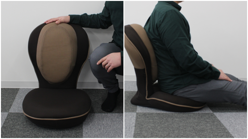 背筋がGUUUN 美姿勢座椅子6
