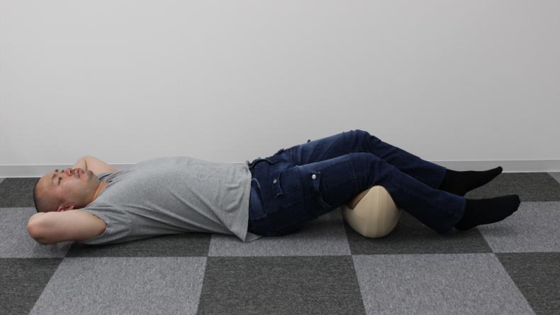 寝返り運動 腰楽ゆらゆら6