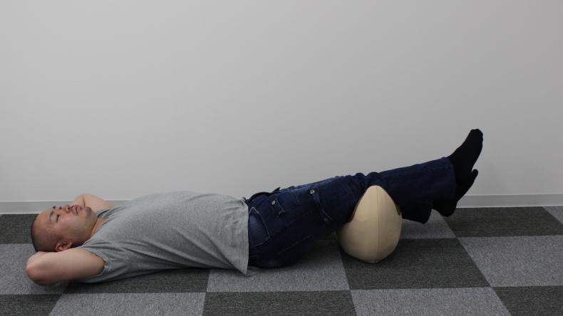 寝返り運動 腰楽ゆらゆら8