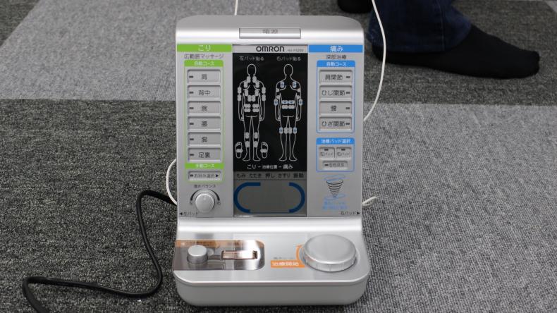 オムロン 電気治療器(HV-F5200)5